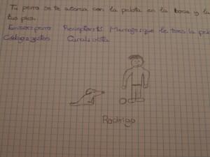 Dibujo de Rodrigo